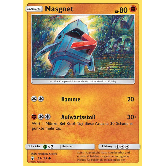 Nasgnet - 69/145 - Reverse Holo