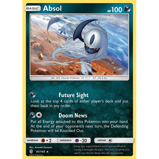 Absol - 81/145 - Holo