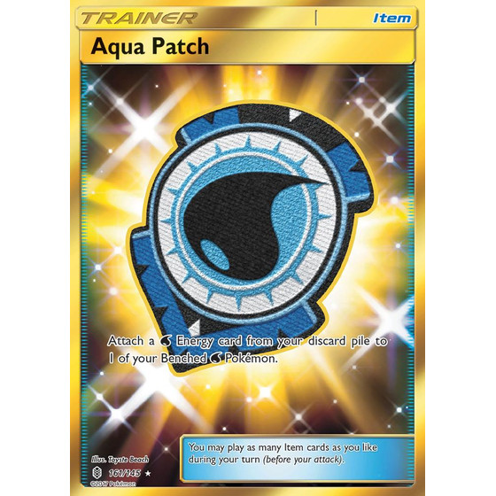 Aqua Patch - 161/145 - Shiny