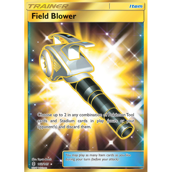 Field Blower - 163/145 - Shiny