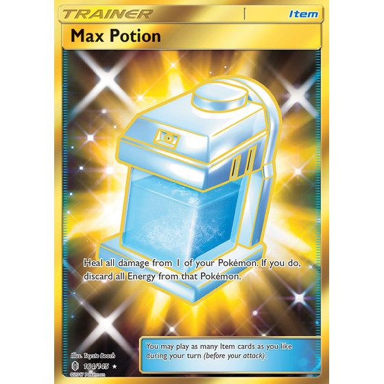 Max Potion - 164/145 - Shiny