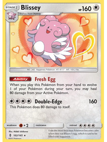 Blissey - 102/145 - Reverse Holo