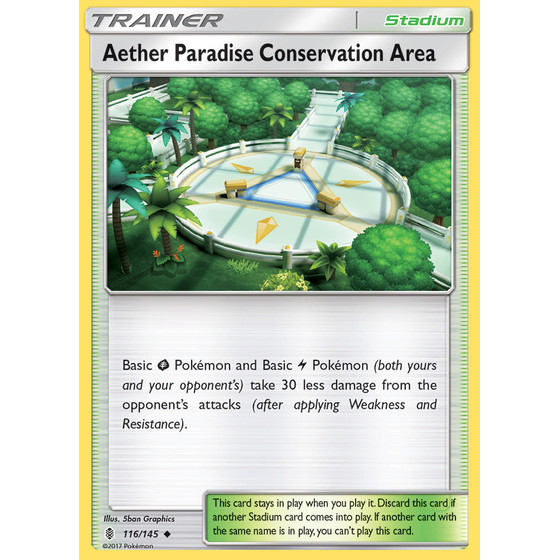 Aether Paradise Conservation Area - 116/145 - Reverse Holo