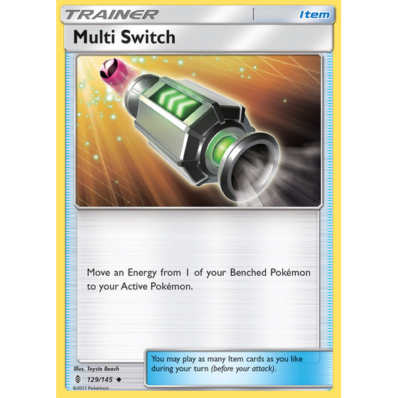 Multi Switch - 129/145 - Reverse Holo