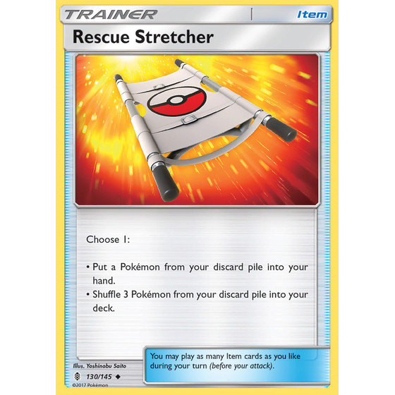 Rescue Stretcher - 130/145 - Reverse Holo
