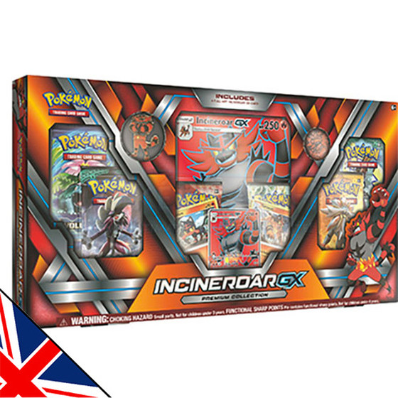 Incineroar GX Premium Collection (Englisch)