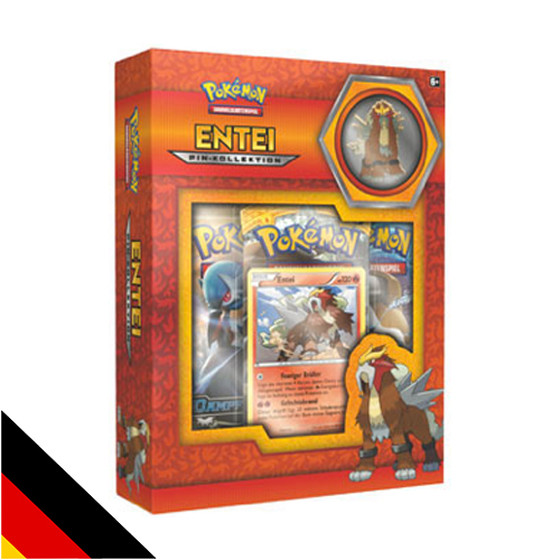 Entei Pin Kollektion (Deutsch)