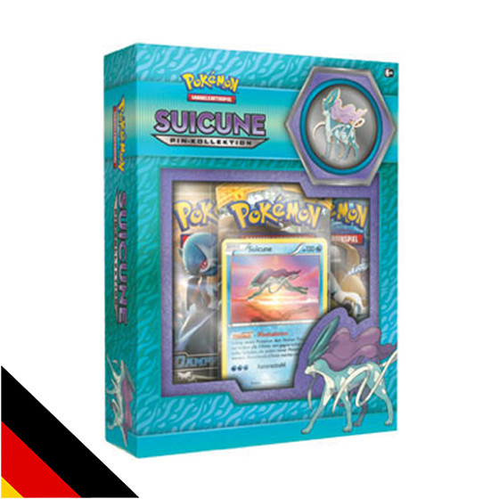 Suicune Pin Kollektion (Deutsch)
