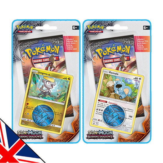 Sun & Moon: Burning Shadows 1-Pack + Promo Blister...