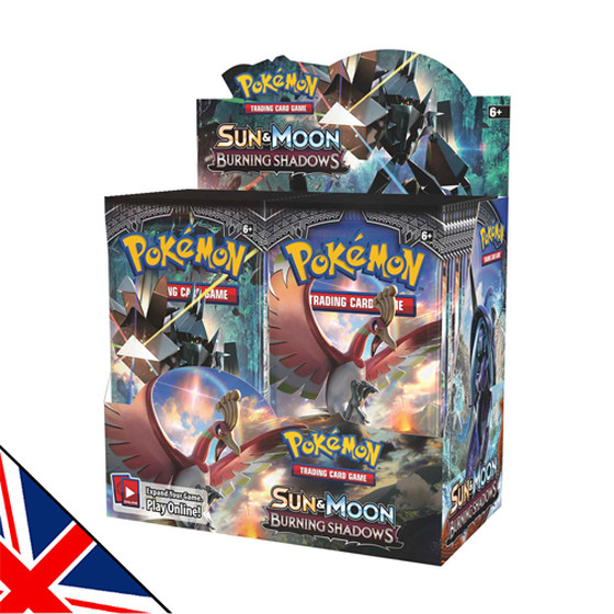 Sun & Moon: Burning Shadows Display (Englisch)