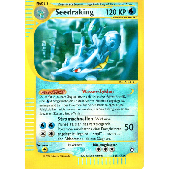Seedraking - 19/147 - Reverse Holo