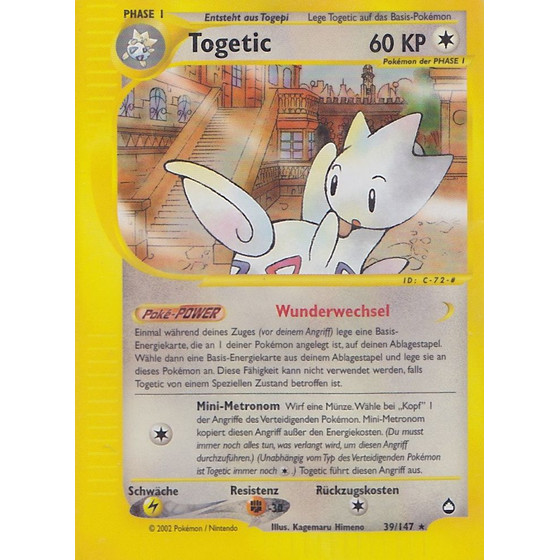 Togetic - 39/147 - Reverse Holo