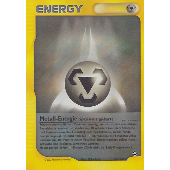 Metall-Energie - 143/147 - Reverse Holo