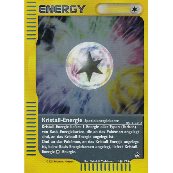 Kristall-Energie - 146/147 - Reverse Holo