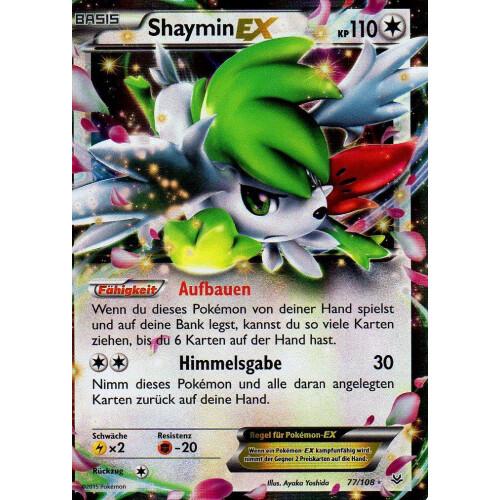 Shaymin Ex 77108 Ex