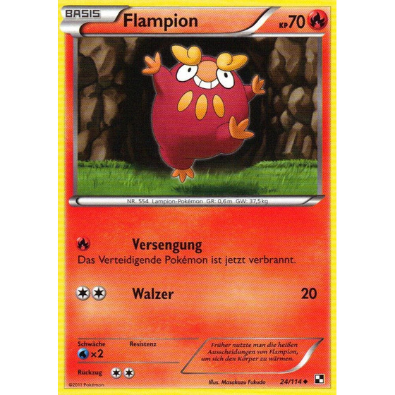 Flampion - 24/114 - Reverse Holo