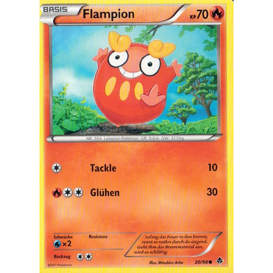 Flampion - 20/98 - Reverse Holo