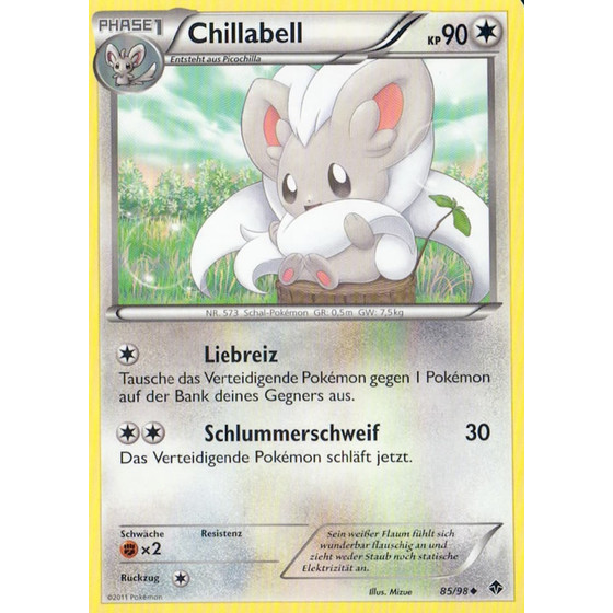Chillabell - 85/98 - Reverse Holo