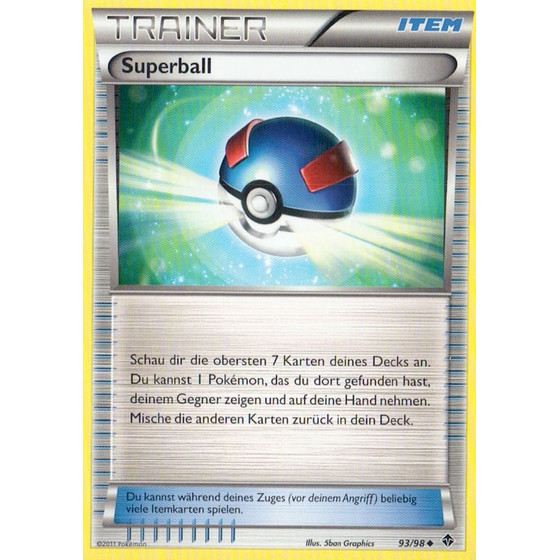 Superball - 93/98 - Reverse Holo
