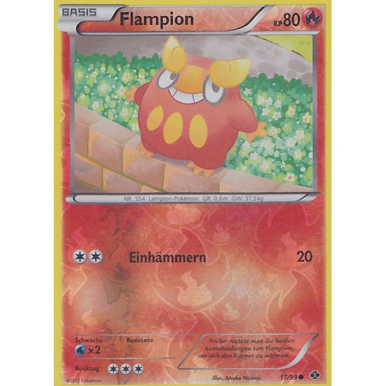 Flampion - 17/99 - Reverse Holo