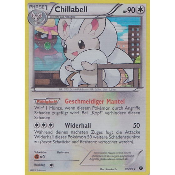 Chillabell - 85/99 - Reverse Holo