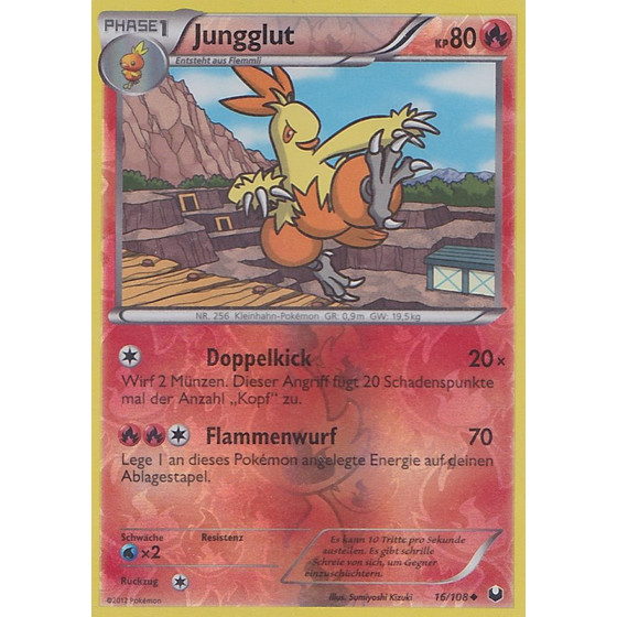 Jungglut - 16/108 - Reverse Holo