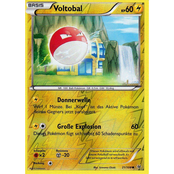 Voltobal - 21/108 - Reverse Holo