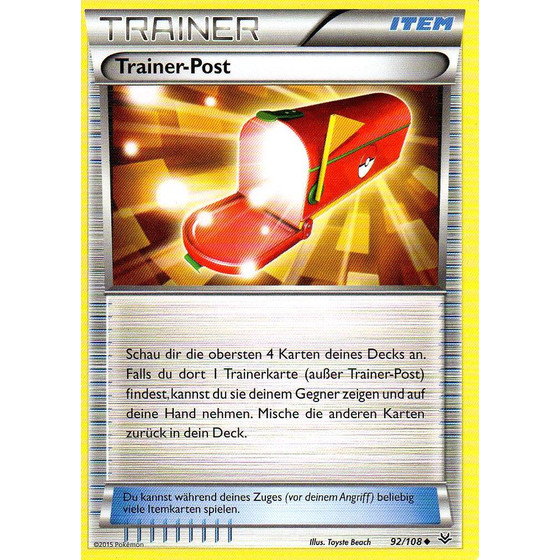 Trainer-Post - 92/108 - Reverse Holo