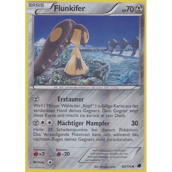 Flunkifer - 80/116 - Reverse Holo