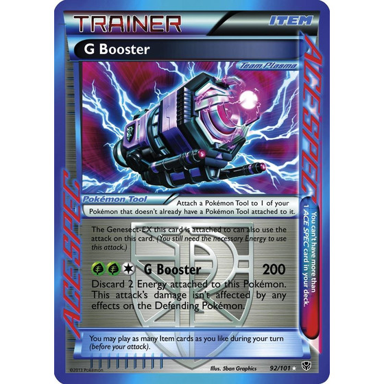 G Booster - 92/101 - Holo