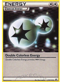 Double Colorless Energy - 113/113 - Reverse Holo