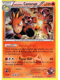Team Magma´s Camerupt - 2/34 - Holo