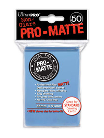 Ultra Pro Pro Matte Light Blue - 50 Sleeves