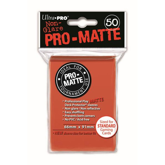 Ultra Pro Pro Matte Peach - 50 Sleeves