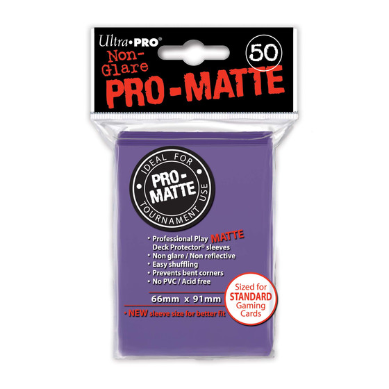 Ultra Pro Pro Matte Purple - 50 Sleeves