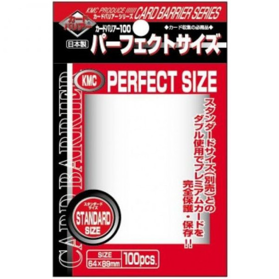 KMC Perfect Size - 100 Sleeves