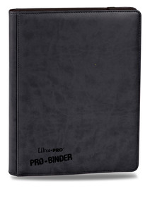 Ultra Pro - Premium Pro Binder Black (9-Pocket)