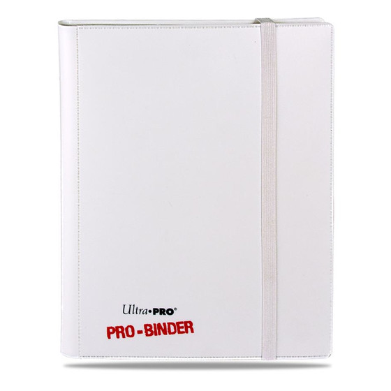 Ultra Pro - Pro Binder White (9-Pocket)
