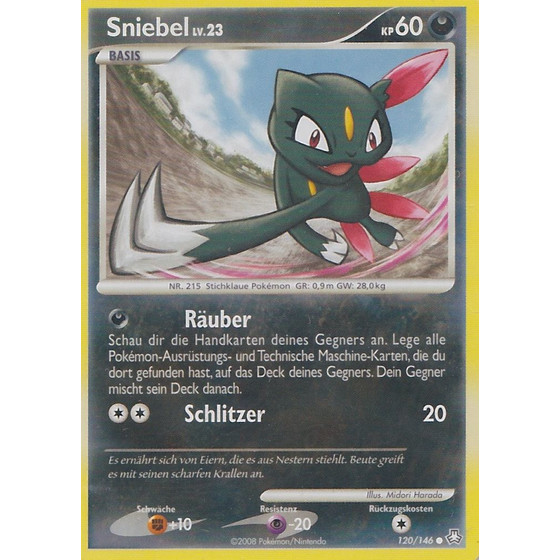 Sniebel - 120/146 - Reverse Holo