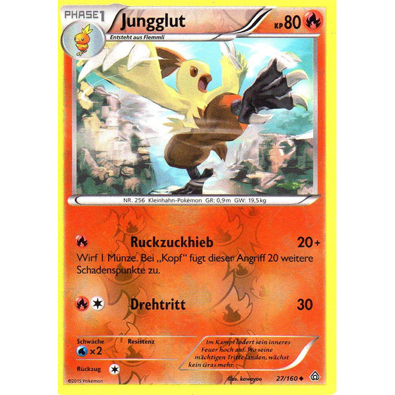 Jungglut - 27/160 - Reverse Holo