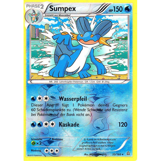 Sumpex - 35/160 - Reverse Holo