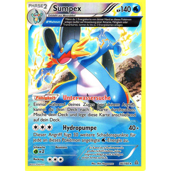 Sumpex - 36/160 - Reverse Holo