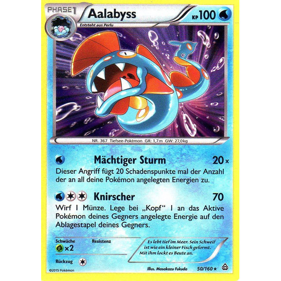 Aalabyss - 50/160 - Reverse Holo