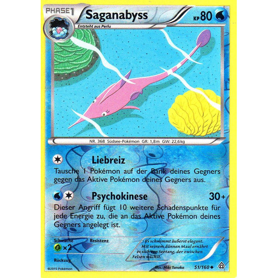 Saganabyss - 51/160 - Reverse Holo