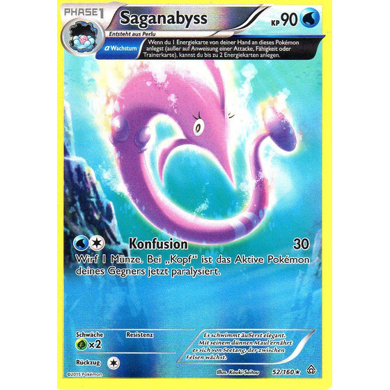 Saganabyss - 52/160 - Reverse Holo