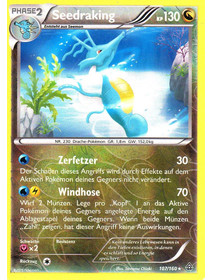 Seedraking - 107/160 - Reverse Holo