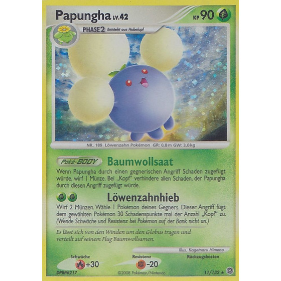 Papungha - 11/132 - Reverse Holo