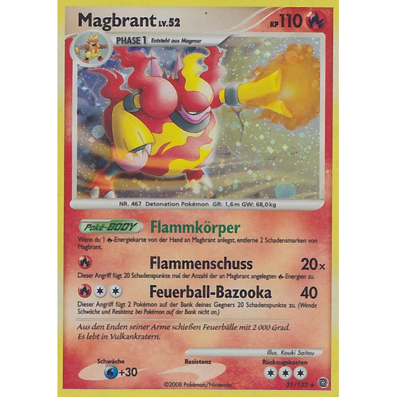 Magbrant - 31/132 - Reverse Holo