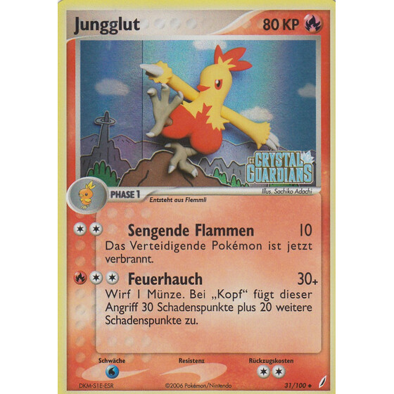Jungglut - 31/100 - Reverse Holo