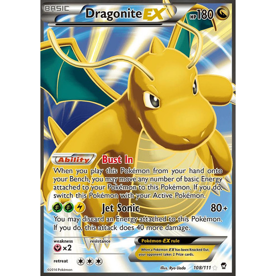 Dragonite-EX - 108/111 - Fullart